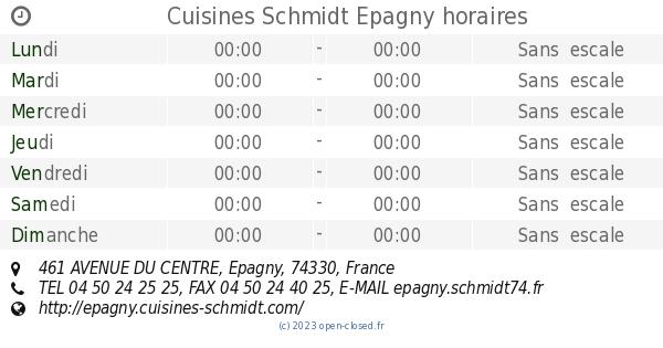 Cuisines schmidt epagny horaires 461 avenue du centre - Cuisine schmidt epagny ...